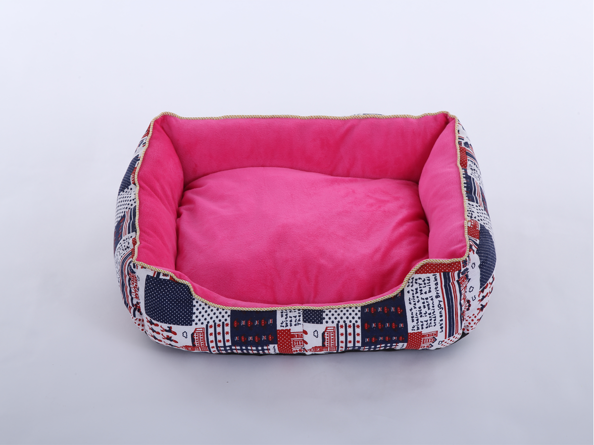 Dog Bed (Small/Pink)