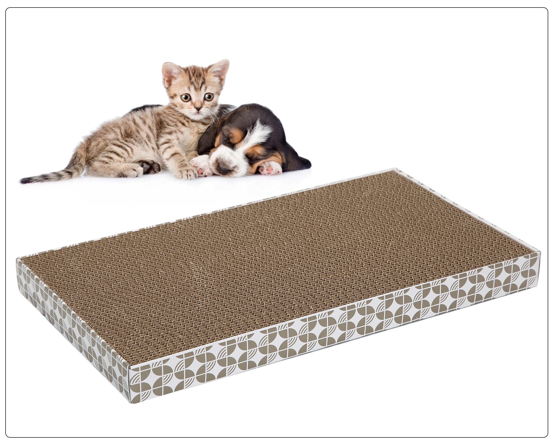 Rectangle Scratching Post (2pcs/pack)/(20packs/case)/(Qty Unit=Pack)