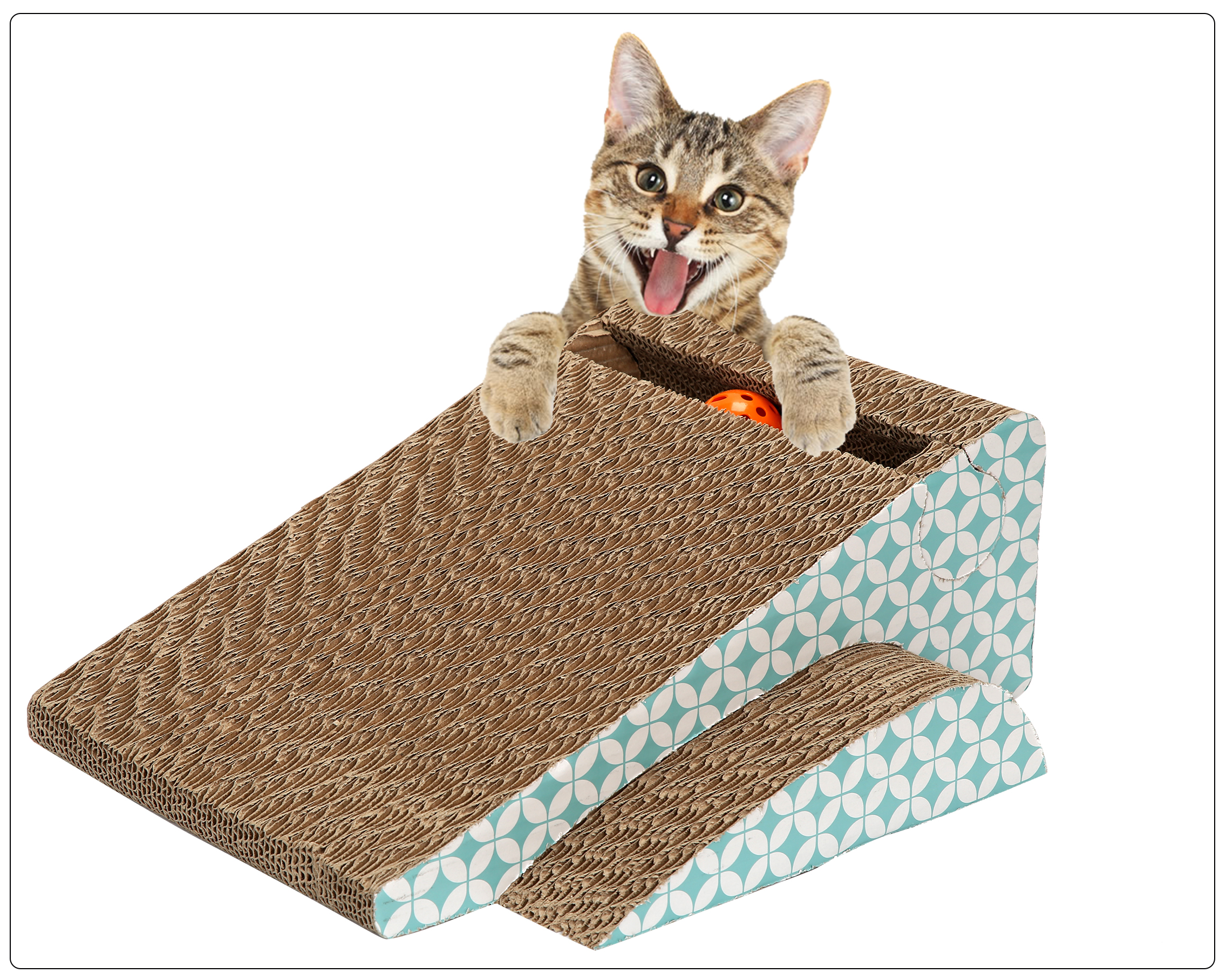 Slope Scratching Post (2pcs/pack)/(6packs/case)/(Qty Unit=Pack)